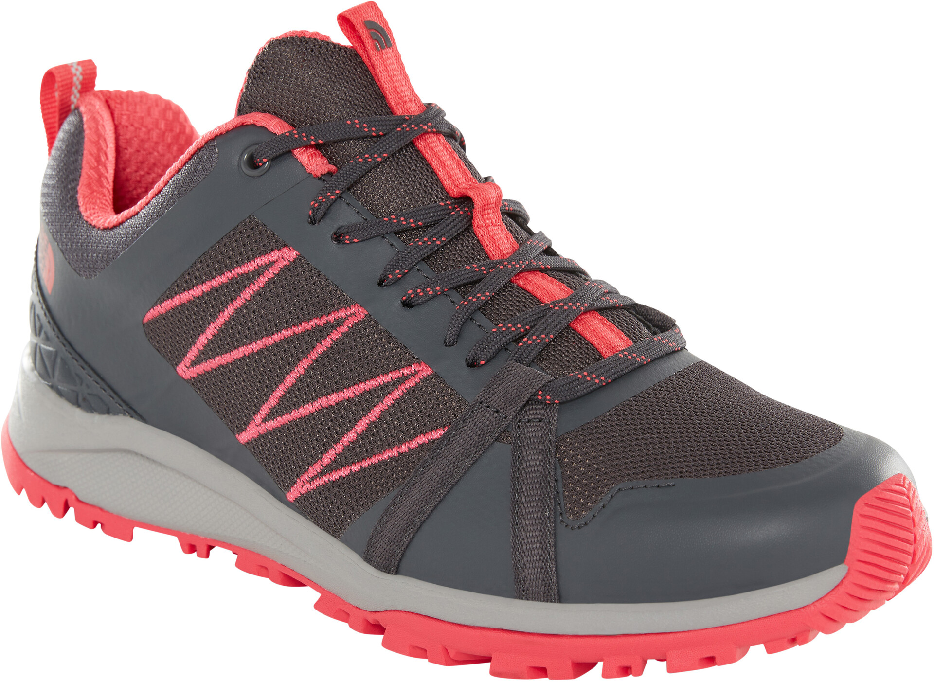 Litewave L The Fastpack Dames Ii Schoenen Face Grijsrood North HDeWI9YE2